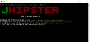 Micro Servicios con JHipster